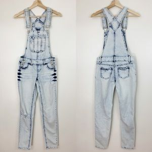 Blue Spice Jeans - Blue Spice | Acid Wash Distressed Skinny Overalls
